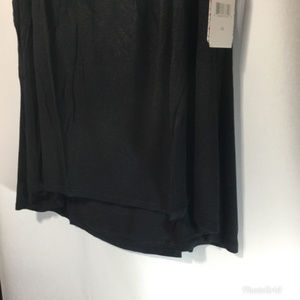 love on a hanger Tops - Womens Sleeveless Black Tank Top Plus Sz 3X NWT